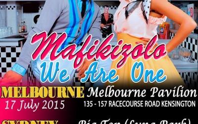 MAFIKIZOLO AUSTRALIAN TOUR 2015